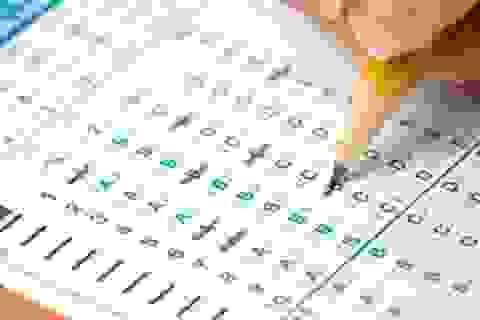 Thi trắc nghiệm trong Kỳ thi chọn học sinh giỏi Toán của Mỹ