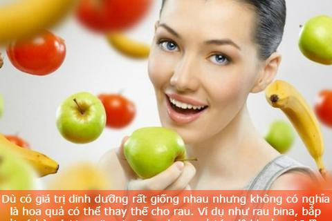 Những sai lầm nhiều người thường mắc phải khi ăn trái cây