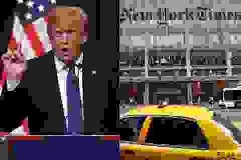 Tổng thống đắc cử Trump hủy họp báo với New York Times