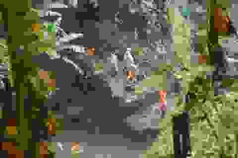 Một du khách trượt chân xuống thác Đam B'ri mất tích