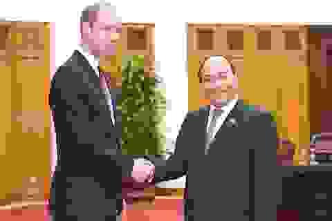 Thủ tướng tiếp Công tước xứ Cambridge, Hoàng tử Anh