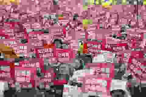 Nghị sỹ đối lập sẽ từ chức tập thể nếu bà Park không bị luận tội
