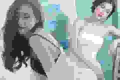"""""""Hot girl phòng trà"""" Thái Tuyết Trâm tiết lộ về hình xăm bí ẩn"""