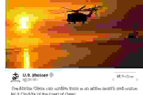 Trực thăng quân sự Mỹ đâm nhau trên không, 12 người có thể thiệt mạng