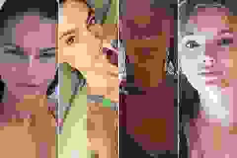 Ngắm mặt mộc của thiên thần Victoria's Secret
