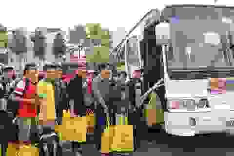 1.000 vé xe miễn phí dành cho sinh viên miền Trung về quê ăn Tết