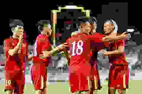 Đội tuyển Việt Nam ngược dòng đánh bại Indonesia sau 17 năm