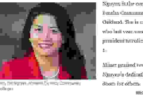 Luật sư gốc Việt được đề cử làm hiệu trưởng đại học ở Mỹ