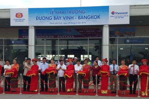 Khai trương đường bay thẳng Vinh - Bangkok