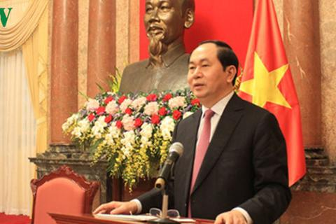 Chủ tịch nước gặp mặt cựu chuyên gia Việt Nam giúp cách mạng Campuchia