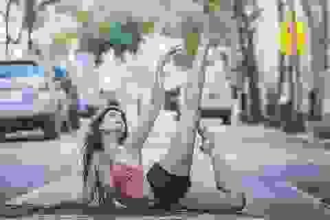 Ngắm vũ điệu ballet tuyệt đẹp trên đường phố New York