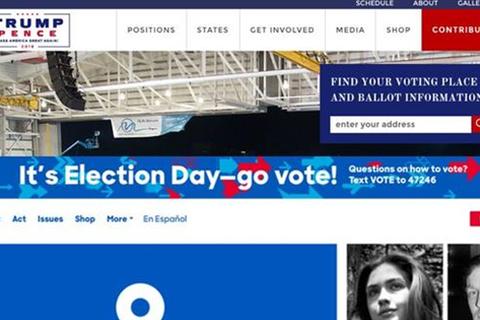 Hacker tấn công website của ông Trump và bà Clinton trước ngày bầu cử