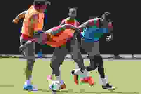 Arsenal tập buổi đầu tiên tại Mỹ