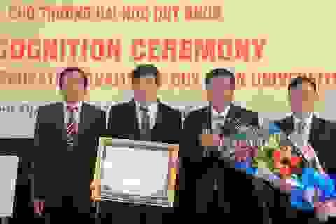 Trường ĐH Quy Nhơn là trường thứ 46 đạt tiêu chuẩn Kiểm định chất lượng