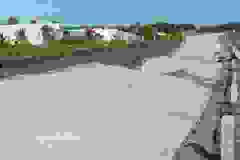Đê biển sụt lún nghiêm trọng: Thuê đơn vị độc lập đánh giá nguyên nhân