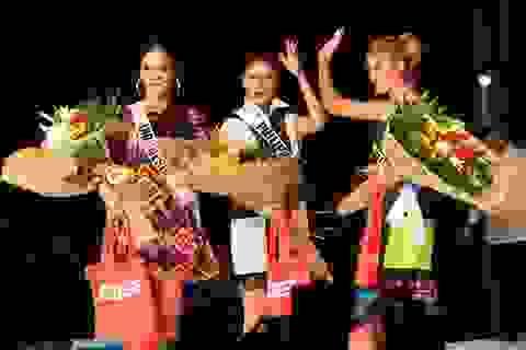 Ngắm các mỹ nhân Hoa hậu Hoàn vũ 2016 trình diễn thời trang