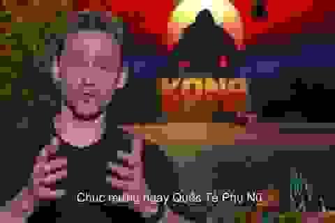 """Sao phim bom tấn """"Kong"""" chúc mừng phụ nữ Việt Nam nhân ngày 8/3"""