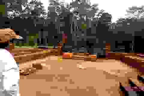 Hoàn thành công tác khai quật đoạn đường cổ ở Thánh địa Mỹ Sơn