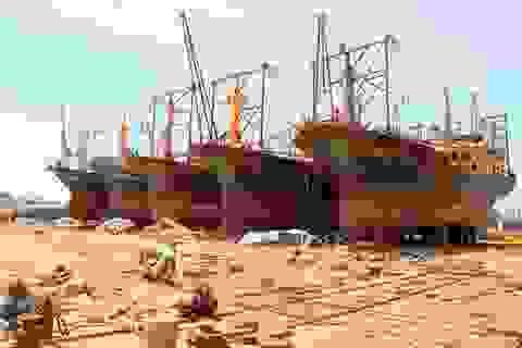 25 chủ tàu vỏ thép nợ quá hạn gần 13 tỷ đồng do hư hỏng nằm bờ