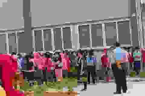 Quảng Nam: Hơn 500 công nhân may đình công đòi quyền lợi