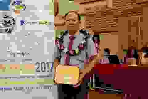 Nhân tài Đất Việt 2017: Nông dân sáng chế máy cấy lúa giành giải Khuyến tài
