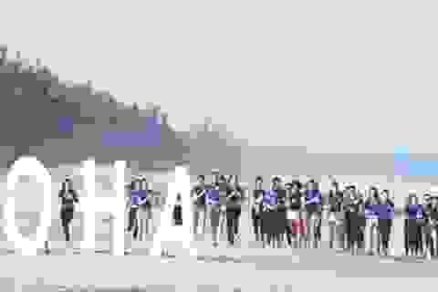 Aloha Beach Village Phan Thiết tài trợ chính hoa hậu Hoàn Vũ Việt Nam
