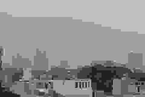 Sài Gòn mù sương lúc chính ngọ
