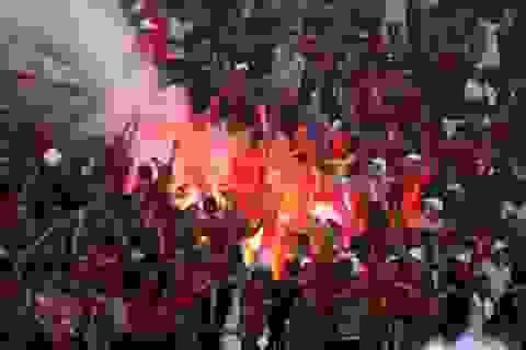Sân Lạch Tray nhận án phạt tiền đầu tiên tại V-League 2017
