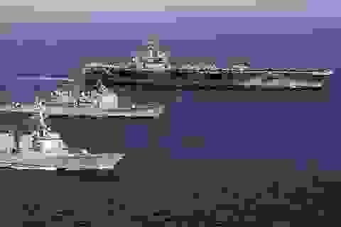 Mỹ rút toàn bộ tàu sân bay trên thế giới về nước