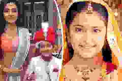 """Dư luận Ấn Độ phản đối phim truyền hình """"chú rể 10 tuổi"""""""