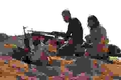 Lực lượng Thổ Nhĩ Kỳ và quân nổi dậy Syria tiến vào thành trì IS