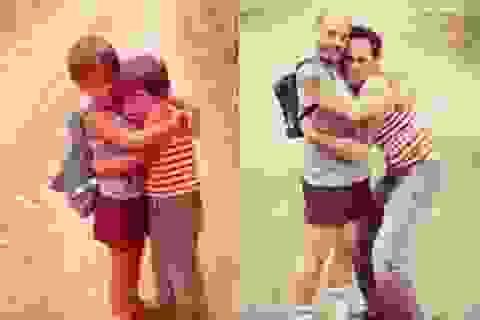 """Bộ ảnh xưa và nay cho thấy """"tình bạn vĩnh cửu"""" bất chấp tuổi tác"""