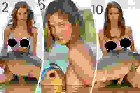 """Diện mạo bộ ảnh lịch """"người đẹp bên cá chép"""" gây sốt"""