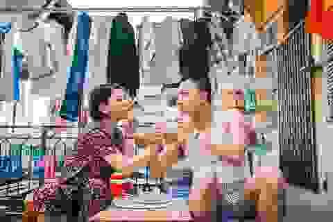 Ảnh cưới giản dị của cặp đôi yêu xa ở... quán phở, khu chung cư