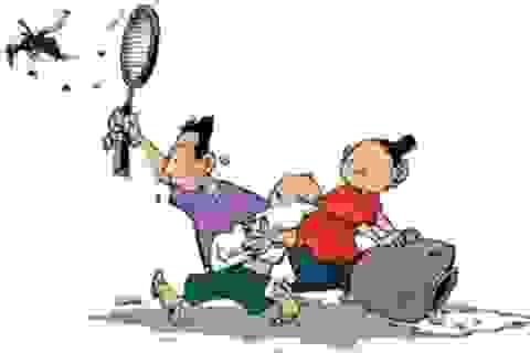 Muỗi 'ăn hiếp' bọn trẻ nhà nghèo