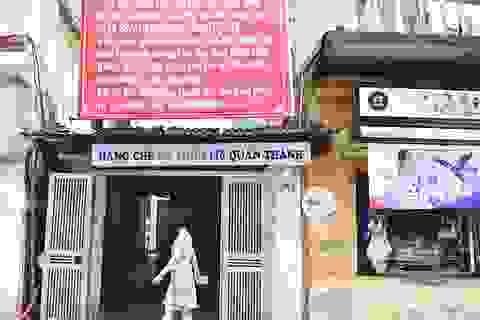 Chủ tịch TP Hà Nội chỉ đạo thông đường cống tắc, giải cứu cư dân 146 Quán Thánh