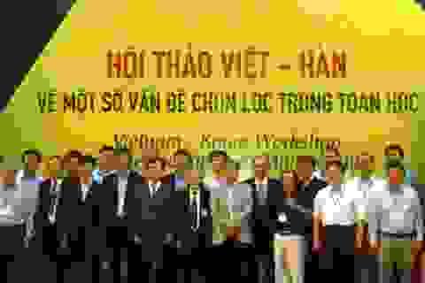 150 nhà khoa học dự hội thảo quốc tế toán học Việt-Hàn