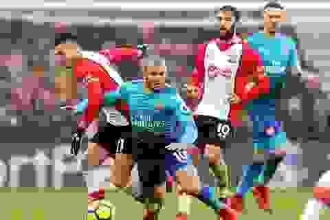 """Southampton 1-1 Arsenal: Giroud cứu """"Pháo thủ"""""""