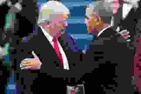 Những khoảnh khắc ấn tượng trong lễ nhậm chức của Tổng thống Trump