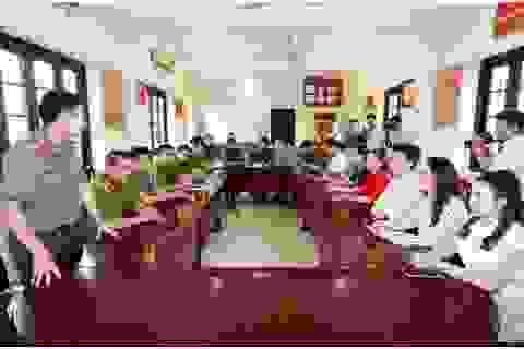 Hiệp hội DNNVV và HH Xuân Hương đến thăm chiến sỹ CAND có hoàn cảnh khó khăn