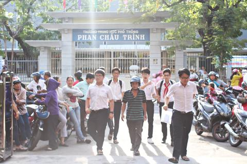 Đà Nẵng: Thí sinh bắt đầu thi tuyển sinh vào lớp 10