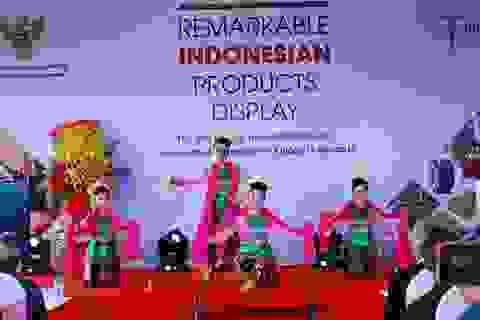"""Tưng bừng lễ khai mạc """"Hội chợ thương mại Indonesia 2017"""" tại Đà Nẵng"""