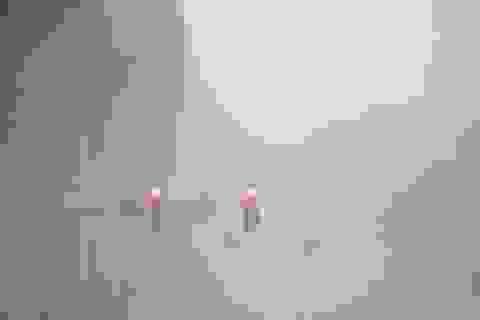 Mây phủ trắng nhiều tuyến đường trung tâm Hà Nội