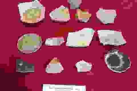 Phát hiện nhiều cổ vật tại Di tích đền Huyện