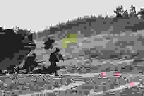 Xem lính Mỹ tập đổ bộ kiểu Thế chiến 2 gần biên giới Nga