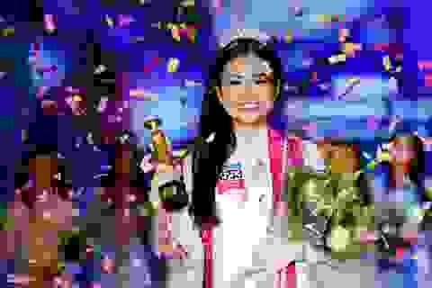 """Cô gái 16 tuổi, cao 1m70 đăng quang """"Gương mặt nữ sinh áo dài 2017"""""""