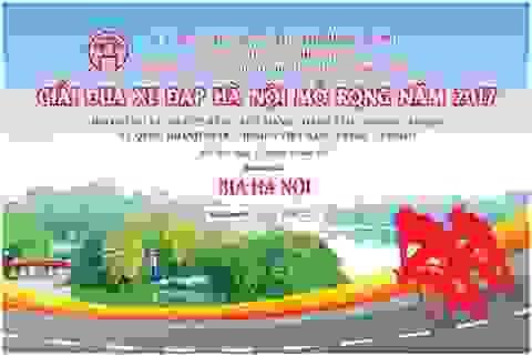 Bia Hà Nội đồng hành cùng giải đua xe đạp Hà Nội mở rộng 2017