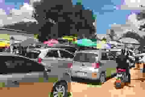 Thanh Hóa: Hàng trăm công nhân tập trung trên quốc lộ đòi quyền lợi