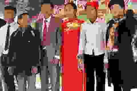 Thêm một đám cưới đặc biệt trên bản Rào Tre