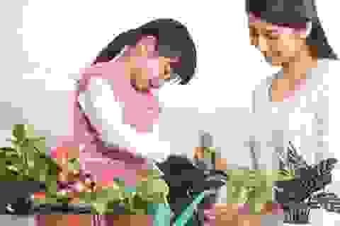Giao trẻ việc nhà để rèn kỹ năng sống